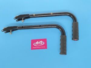 Lomax Remploy / Invacare Ben 9+ Uni 8 / Uni 9 Wheelchair Folding Push Handles C2