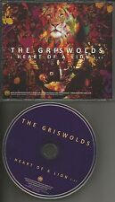 THE GRISWOLDS heart of a Lion ULTRA RARE 2013 PROMO radio DJ CD single USA MINT