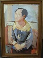 Prof Bruno Merbitz 1918 Berlin 1997, asiatischer Junge, Gemälde aus dem Nachlass