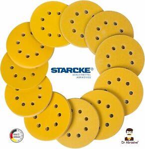 125mm Sanding Discs 5 inch STARCKE Orbital Sandpaper Hook & Loop Pads BEST PRICE