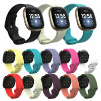 Replacement Silicone Wristband Watch Band Strap for Fitbit Versa 3 Bracelet