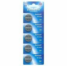 5x CR2032 Batteries DL2032 BR2032 KL2032 3v Super Lithium Battery Eunicell UK