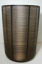 Bath & Body Works Bronze Luminary Wire Metal 3 Wick Candle Holder