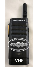 Motorola MotoTRBO SL300 VHF 99 CH Active Display w/Rapid Desk Charger UPGRADE