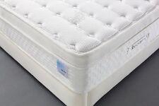 Oliver Smith - Organic Cotton - 12 Inch - Deluxe Sleep - Plush Euro Pillow Top -