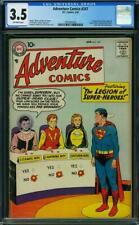 Adventure Comics #247 CGC 3.5 DC 1958 1st Legion of Superheroes K12 102 cm clean