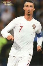 Cristiano Ronaldo Portugal Weltmeisterschaft 2018, Madrid, Fussball -- Postkarte