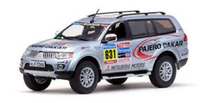 1/43 Vitesse 43437 L/E Pajero Sport 2010 Dakar Rally #631 Team Service Car