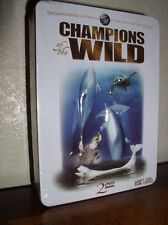 Champions of the Wild - Marine Life (DVD, 2008, 2-Disc Set,Tin, NEW)