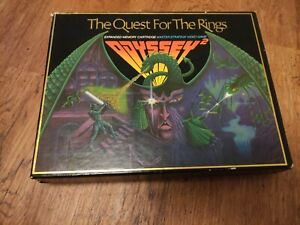 PHILIPS VIDEOPAC G7000  The Quest For The Rings Odyssey 2 + Game + Booklet