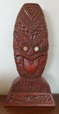 New listing Maori Tiki Wood Carving