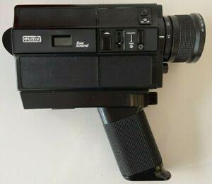 Eumig 860 PMA Super 8 Movie Camera Live Sound WORKING