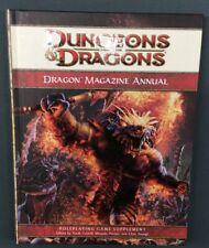 D&D DRAGONS MAGAZINE ANNUAL 4TH EDITION WOTC