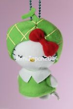 Hello Kitty Gotochi green melon plush mascot Sanrio Japan