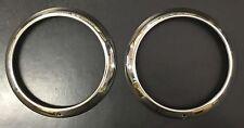 NEW 1947 1948 1949 1950 1951 1952 1953 Chevy GMC Truck headlight bezels pair SS