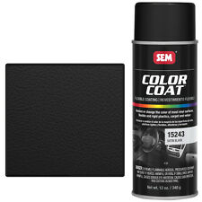 SEM 15243 Black Aerosol color coat spray can