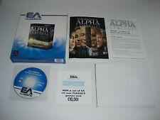 Sid Meier's ALPHA CENTAURI Pc Cd Rom Classics BIG BOX - Fast Secure Post