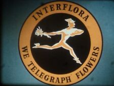 Ace 16mm mega-rare in-house floristry training cine film INTERFLORA flowers