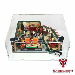 Acrylic Perspex Model Display Case For LEGO 21319 Friends TV Series
