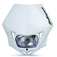 Polisport MMX Road Legal Headlight Enduro KTM  XR WRF DRZ - WHITE