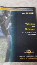 Wakefield V Richmond programa 4.10.03 Taza de Powergen