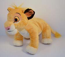 "12"" Simba Plush Stuffed Animal Figure Disney Store Exclusive Patch Lion King"