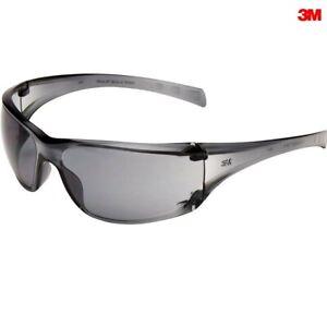 Occhiali di protezione grigi da lavoro lente antiriflesso protettivi 3M