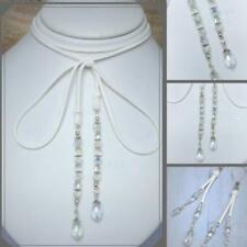 Crystal Longer than 90 cm Round Costume Necklaces & Pendants