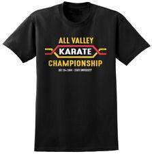 All Valley Karate Kid Inspirado T-Shirt-Clásico Retro 80s peli película MMA Tee