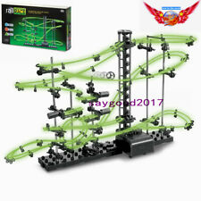 Space 10m Rail Race Track Glow In The Dark Marble Run Toy Game child Xmas Gift