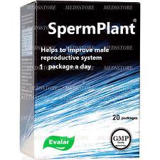 Sperm Plant - Natural Herbal male infertility increase semen 500% more sperm
