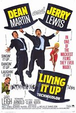 LIVING IT UP Movie POSTER 27x40 Dean Martin Jerry Lewis Janet Leigh Edward
