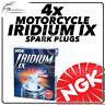 4x NGK Upgrade Iridium IX Spark Plugs for HONDA 600cc CB600F (Hornet) 07-> #6216