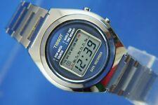 Vintage Tissot Quartz LCD Digital World Timer Data Recorder Watch NOS New 1970s