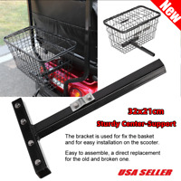 Rear Basket Accessory for Mobility Scooter Sturdy Center-Support US STOCK