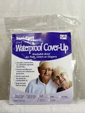 Salk Sani-Pant Lite Pull-On Waterproof Cover-Up Washable Brief Size Medium