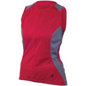 Specialized Cosa Women's Sleeveless Jersey, Crimson, M