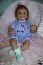 "ASHTON DRAKE SO TRULY REAL 18"" LITTLE LOVE BUG BABY DOLL ""HAIR needs TLC"" EUC"