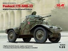 ICM 1/35 Panhard 178 AMD-35 2ND GUERRE MONDIALE French manucure Voiture Blindée