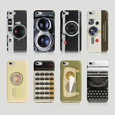 iPhone Samsung Hard Phone Case Camera Reflex Retro Vintage Gift