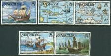 ANGUILLA - 1973 'COLUMBUS DISCOVERS THE WEST INDIES' Set of 5 MNH [A1096]