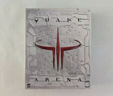 Quake III 3 Arena (1999) PC CD Big Box Original Complete - Excellent Condition