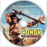 CONAN the BARBARIAN  Radio Dramatisations AUDIO MP3 CD audiobook fantasy comic