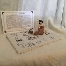 Disney SNOW WHITE &7 DWARFS 65 Anniversary Figure Model Sheet Figural Scene-MIB