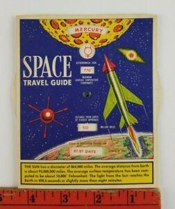 Vintage 1958 Mechanical Spaulding Bread Advertisement Space Travel Guide