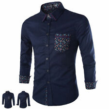 Unbranded Fitted Regular Size Casual Shirts & Tops for Men