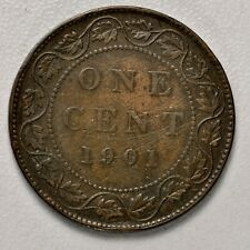 CANADA LARGE CENT - 1901 ++ SHARP GRADE!! ++ [944-10]