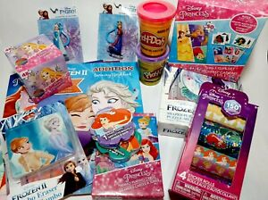 15 Piece Disney Princess Learning & Activity Set (Workbooks,Puzzles,Stickers...)