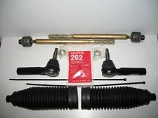 Fits 2007-2009 Toyota FJ Cruiser Left & Right Inner & Outer Tie Rod & Bellow Kit