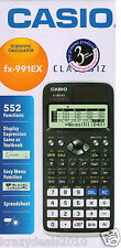 Casio FX-991EX Black Scientific Calculator FX 991 EX 552 Functions Classwiz New